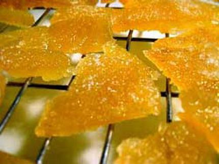Цукаты из апельсиновой корки